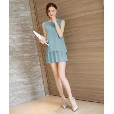 Sét bộ đồ quần giả váy cá tính - BD16057