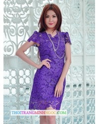 Đầm Ren Thêu Sang Trọng - 1550