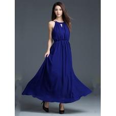 Đầm Dạ Hội Cổ Xẻ V Xinh Xắn - 2014