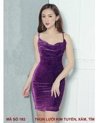 Đầm Dây Kim Tuyến - 182