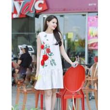 Đầm In Hoa 3d - 2053