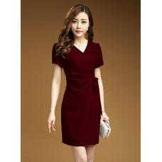 Đầm Xếp Ly Eo - 2073