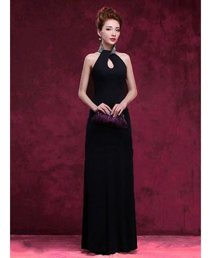 Đầm Dạ Hội Cổ Kết Cườm Sang Trọng - 2084