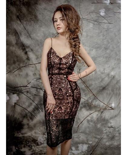 Đầm Ren Cúp Ngực - 2091