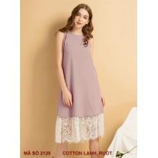 Đầm Suông Lai Ren Xinh Xắn - 2129