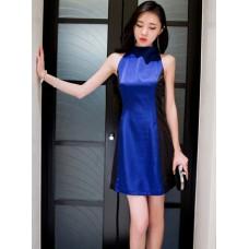Đầm Cổ Lọ lai Xòe Xinh Xắn - 2801