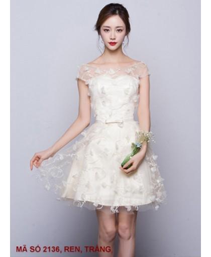 Đầm Ren Cao Cấp Giống Y Hình - 2136