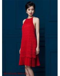 Đầm Ren Yếm Lai Dún - 2146