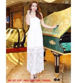 Đầm Maxi Dây Ren Cao Cấp - 2157