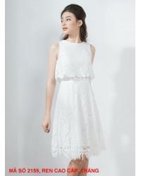 Đầm Khoác Xẻ Lưng - 2159