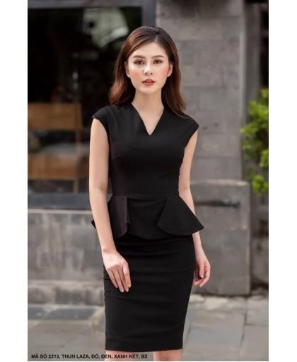 Đầm ôm công sở sang trọng - 2213