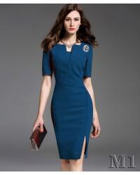 Đầm Công Sở Sang Trọng - D9018