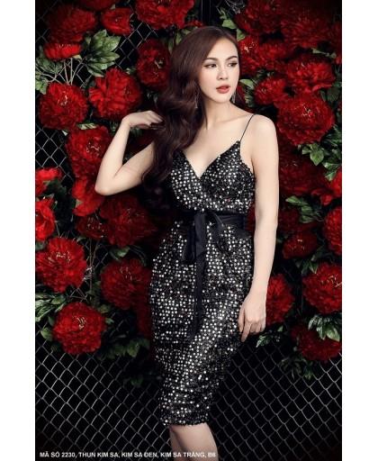 Đầm Dây Kim Sa  - 2230