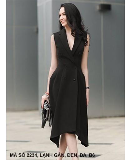 Đầm Giả Vest Nữ Lai Nhọn -2234