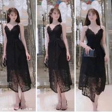 Đầm Ren 2 Dây Ngọc Trinh Sang Trọng -2359