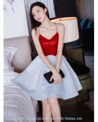 Đầm Dây Xòe Xinh Xắn -2177