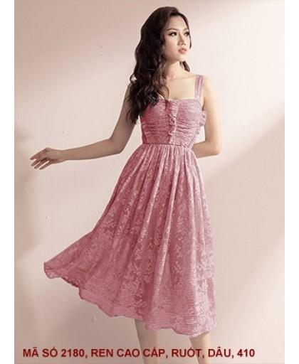 Đầm Maxi Ren Sang Trọng -2180