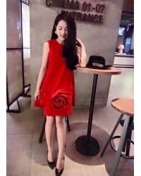 Đầm 3 Hoa Hồng -108